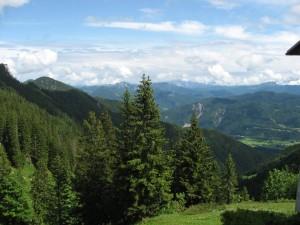 Die Alpen - ein länderübergreifendes hoch gefährdetes Ökosystem Bild © VLAB