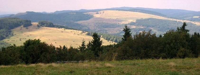 Offenland mit naturnahen Mischwäldern in der Hohen Rhön Bild © VLAB