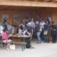 Meist dicht belagert der Pavillon des VLAB und DFO