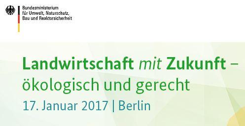 Kongress Landwirtschaft mit Zukunft in Berlin